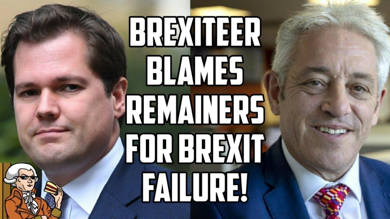 Brexiteer Robert Jenrick Blames John Bercow For Brexit Failures...