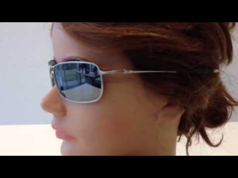 39c39d309c Oakley Crosshair 2.0 Lead Black Indrium Polarized Zonnebril - YouTube