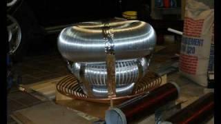 Трансформатор Тесла(Пошаговое объяснение процесса сборки и запуска одного из самых мощных трансформаторов Тесла в России...., 2010-02-17T19:25:23.000Z)