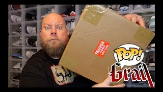 MASSIVE Unboxing of 10 Funko Pop Mystery Boxes AND I hit a GRAIL!! & I DIDN