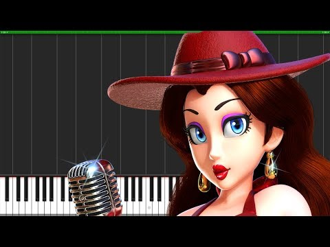 Super Mario Odyssey Medley [Piano Duet] (Synthesia) // Anifuse