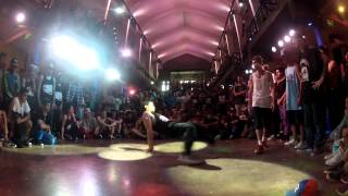 Fack vs William - Final BBoys 1v1 - Knock Out Battle 7 2012