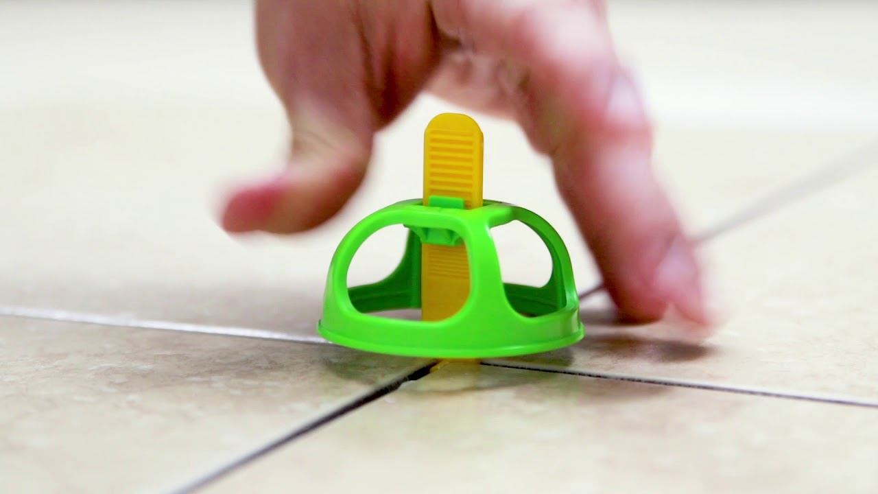 Miracle Sealants Levolution Tile Spacing Leveling System In One Youtube