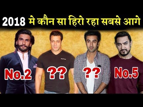 Top 5 Actors in Bollywood 2018 | Highest Movie Collection | Sanju, Padmavat, Race 3 Mp3