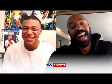 Who would be FASTER, Kylian Mbappe or prime Thierry Henry? | AJ, Henry & Mbappe | The Ultimate Call