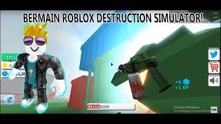 Bermain Game (ROBLOX DESTRUCTION SIMULATOR) #1