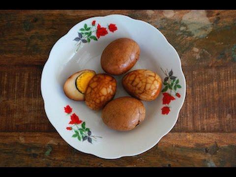 Chinese Herbal Tea Eggs/Marbled Tea Eggs
