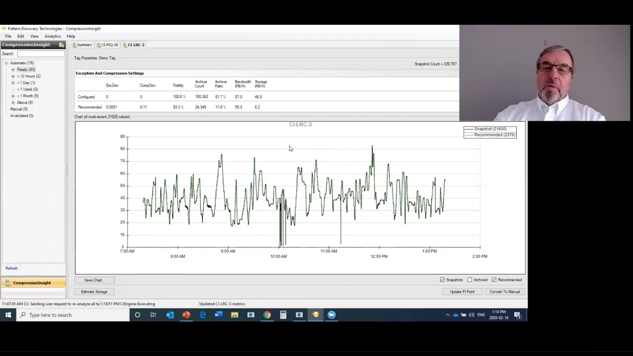 CompressionInsight full demo with Paul Sheremeto