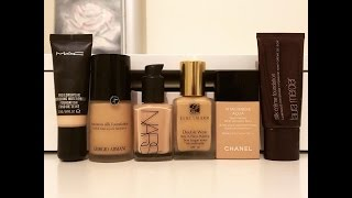 All About Foundations: My favourites and recommendations