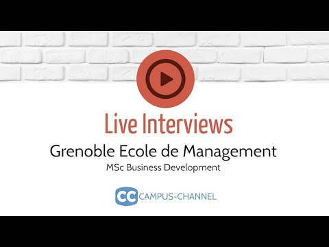 MSc Business Development | Grenoble Ecole de Management