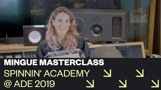 Mingue Masterclass: How To Create A Catchy Song | Spinnin' Academy @ ADE 2019