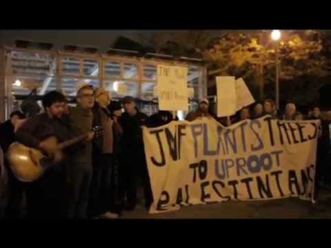 JVP Chicago confronts the JNF, October 2015