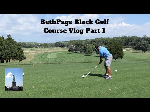 Bethpage Black Golf Course Vlog Part 1