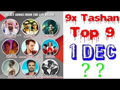 9x Tashan Top 9 Songs of This Week- Dec 1, 2018 | Latest Punjabi Songs 2018 |