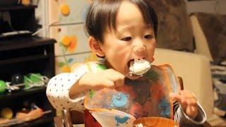 おっきいスプーンで白ごはんYuuma thumbnail