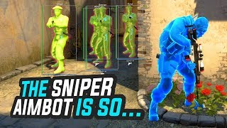 THE SNIPER AIMBOT IS SO... - CSGO OVERWATCH