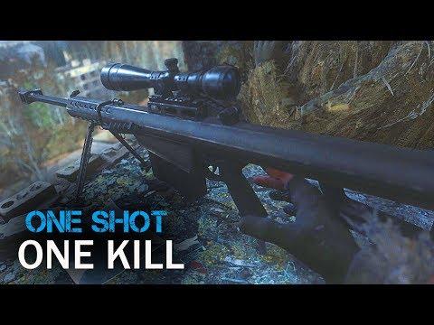 One Shot, One Kill Beautiful Sniper Mission-Call of Duty Modern Warfare Remastered