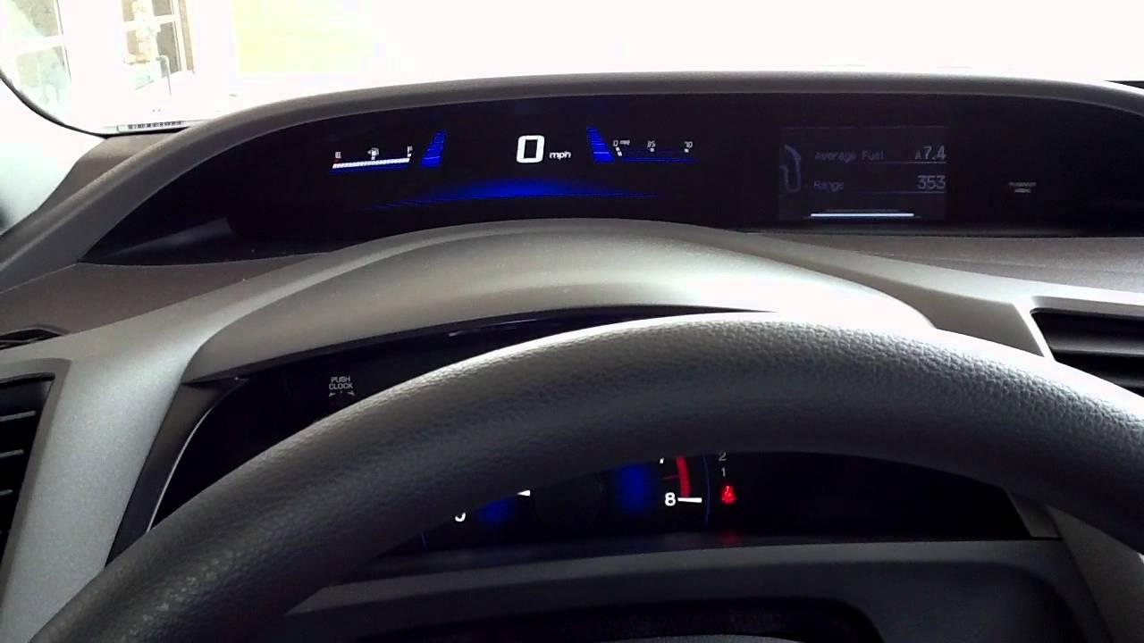 An Interior Tour Of The New 2012 Honda Civic