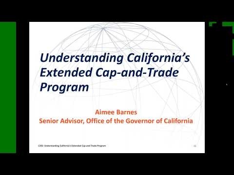 Webinar: Understanding California's Extended Cap-and-Trade Program