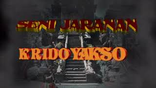 Seni Jaranan Buto Kepruk Krido Yakso [Official Music Video]