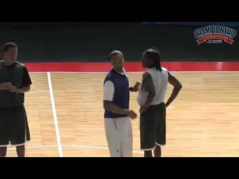 Free Throw Line and Sideline Fast Break and Special Situations with Sharman White