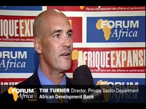 Tim Turner - African Development Bank (AFDB) -  Forum Africa 2011 -  Montreal