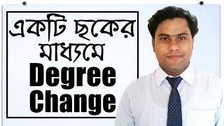 Transformation of Degree Bangla Tutorial | English Grammar in Bangla | BD English School | BDES