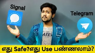How to Use Signal App | Tamil | Telegram vs Signal App | Whatsapp New Privacy Policy | in Tamil 2021