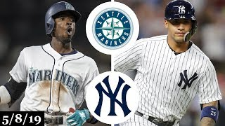 Seattle Mariners vs New York Yankees Highlights | May 8, 2019