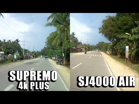 SUPREMO 4k PLUS VS SJ4000 AIR | COMPARISON