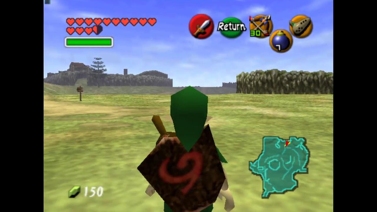 Ocarina of Time: Unused Bomb Blast Effect