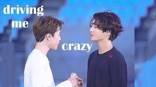 Jungkook Driving Jimin Crazy (+Japan moments)