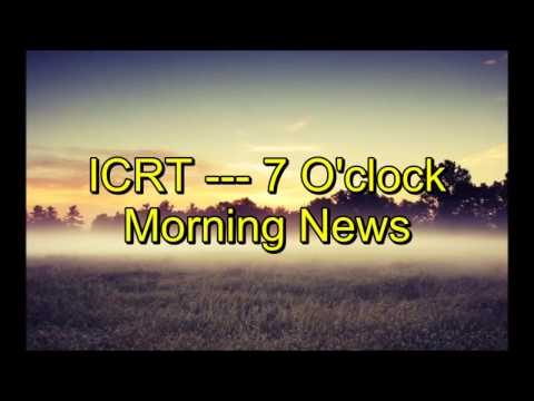 ICRT --- 7 O'clock Morning News