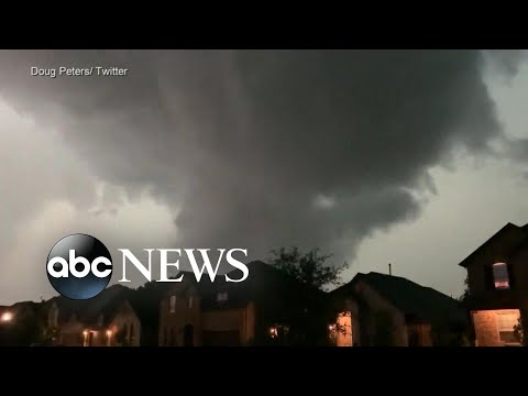 ABC News Live Update: Severe weather alert as storms tear across US