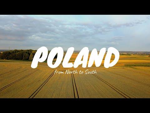 POLAND from north to south  - 4K - DJI MAVIC PRO