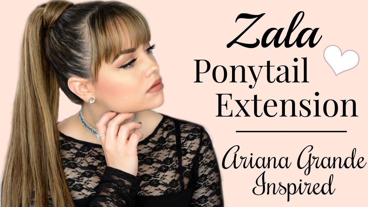 Très bien Extreme ZALA PONYTAIL EXTENSION // Ariana Grande Ponytail   Faces by Cait  WF97