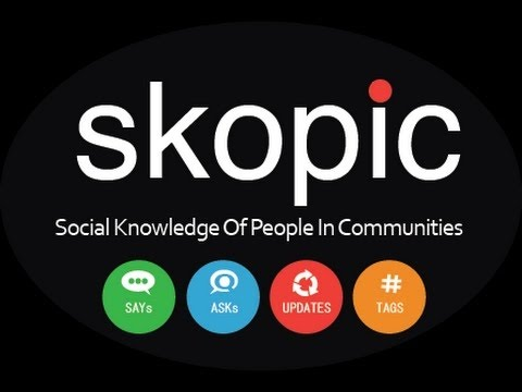 Skopic | An Innovative App for Local Communities | Designed by An Indian