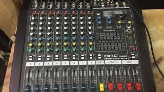 Hướng dẫn sử dụng Bàn Mixer BMG PMX-802E