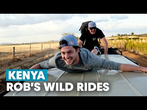Matt Jones and Rob Warner Explore Kenya on MTB | Rob Warner's Wild Rides