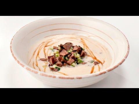 Крем-суп из сельдерея с сердцем ягнёнка | Субпродукты