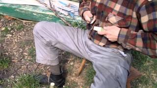 Jak Zrobić Obozowy Stołeczek / How To Make A Wooden Camp Stool