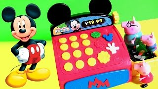 Caixa Registradora do Mickey do Desenho A Casa do Mickey Mouse Completo em portugues BR Brasil Toys