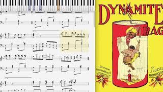 Dynamite Rag - Russel Robinson (1910, Ragtime piano)