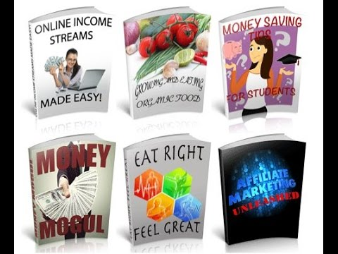 Auto Affiliate Program - Viral Affiliate Marketing - Clickbank Brandable eBooks