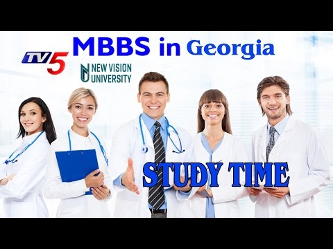 MBBS In Georgia | New Vision University | ISM Focal Point | Study Time | TV5 News