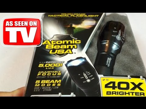 atomic-beam-usa-5000-lux-zoomable-tactical-led-flashlight-review---as-seen-on-tv