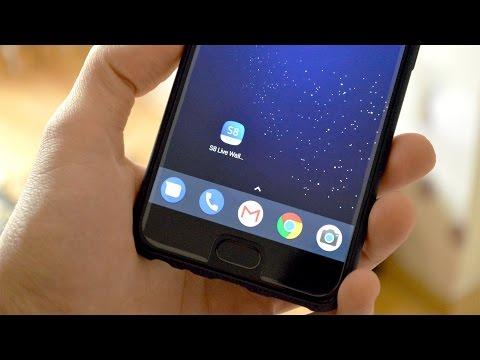 Живые обои Galaxy S8 на любой смартфон