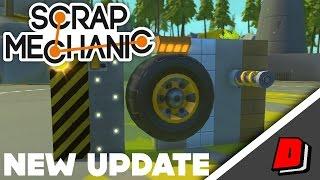 Scrap Mechanic 0.2.0 - NEW UPDATE!!! - NEW GAME ENGINE, SUSPENSION RESISTANCE & DYNAMIC LIGHTING!!