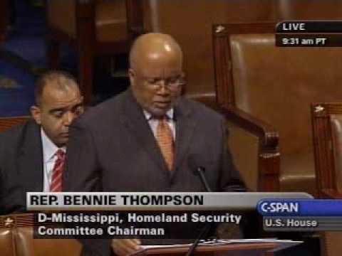 Chairman Thompson Debating the TSA Authorization Act of 2009