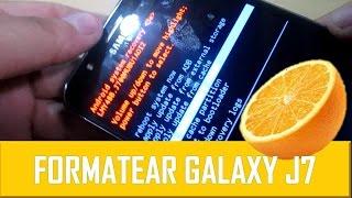 Formatear Samsung Galaxy J7